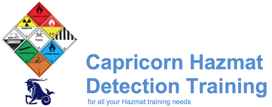 Capricorn HazMat Detection Training